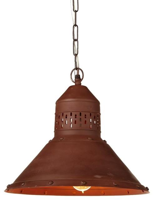 Barnyard Pendant, Vintage Copper.