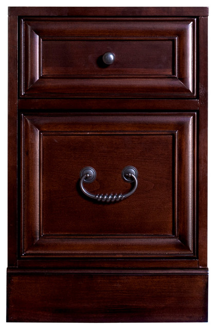 Mount View Rolling File Cabinet - Traditional - Filing ...