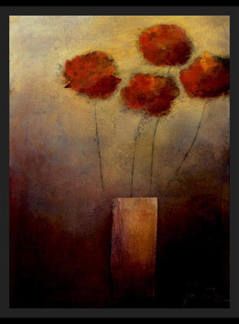 Flowers For Me - Contemporary - Prints And Posters - by Posters 2 Prints, LLC