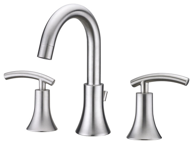 Ultra Faucets Ultra Faucets Brushed Nickel Contemporary