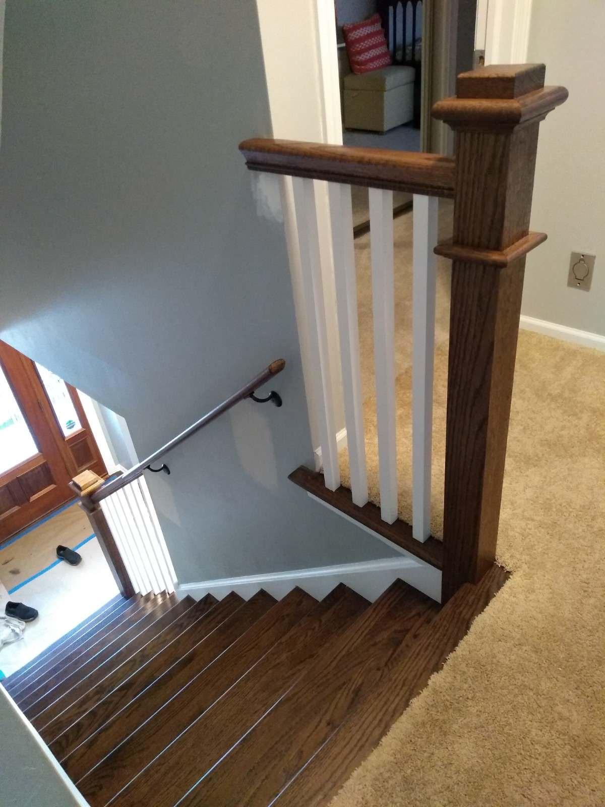 Modern Craftsman Staircase upgrade
