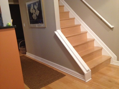 Any Tips For Choosing Carpet A Runner On Maple Hardwood Stairs