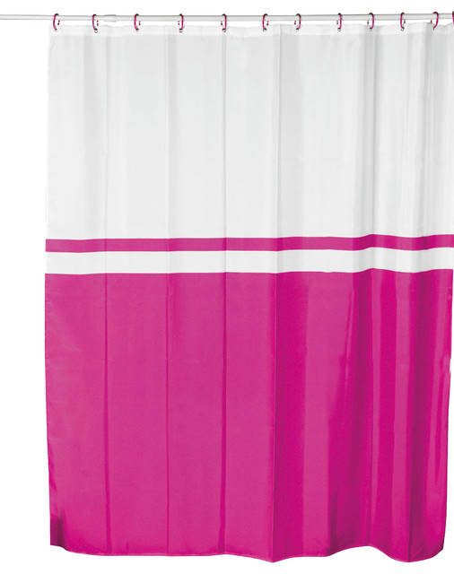 shower curtain velvet effect fabric polyester bicolor curtains