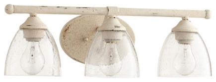 Bathroom Vanity Lights Farmhouse 5150-3-70 brooks transitional light vanity, persian white with