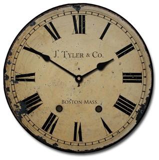 J Tyler Astor Clock Roman Numerals Amp Reviews Houzz