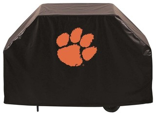 """Clemson Tigers BBQ Grill Cover, 72"""""""