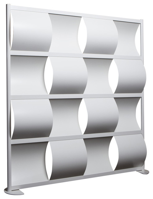 Loftwall Wave Modern Screen Room Divider Designer Screen Contemporary Screens And Room Dividers By Plush Pod Decor