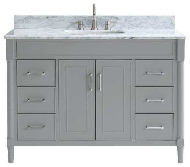Azzuri Bristol Bathroom Vanity Combo - Midcentury ...