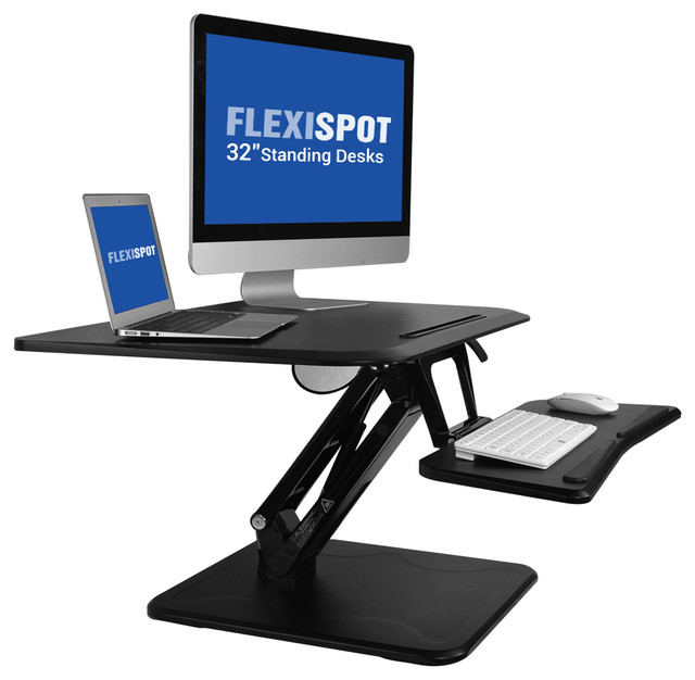 16 7 X32 W Standing Desk Converter Height Adjule Stand Up Riser