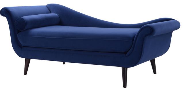 Kai Chaise Lounge Navy Blue