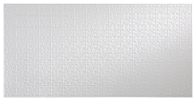 Fasade 48 In X 96 In Traditional Style 1 Wall Panel Traditional Wall Panels By Diy Decor