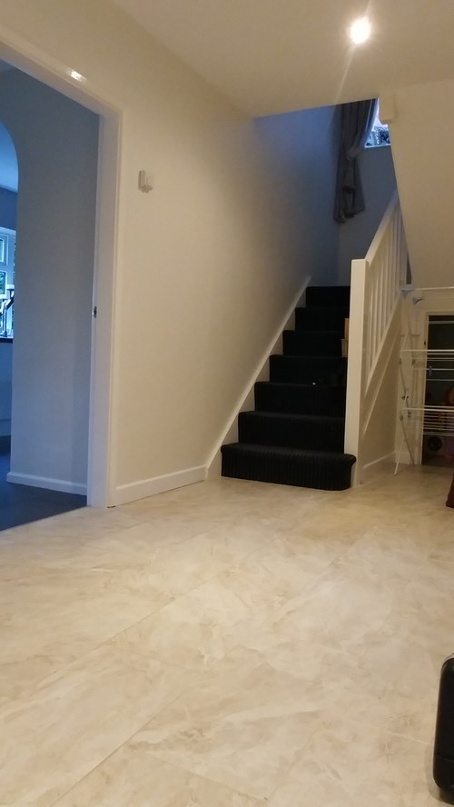 Same Flooring Throughout Downstairs Or Maybe Not