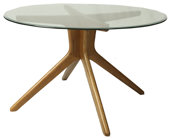 54 54 Glass Table Top: Pastel Manchester 54 Inch Dining Table W/ Round Glass Top