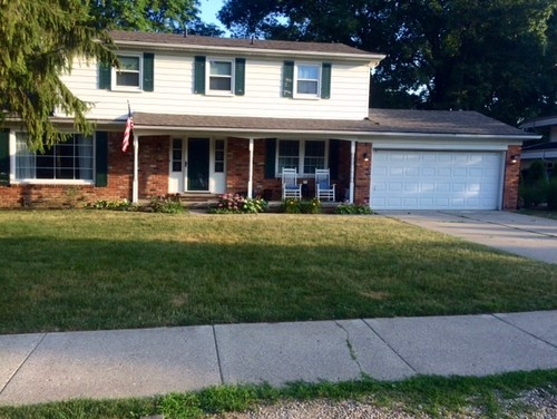 I Am Looking For Some Ideas In Updating Exterior Of 1960u0027s 2 Story Colonial.  Right Now The House Does Not Have The Wow Factor And Is In The Process Of  ...