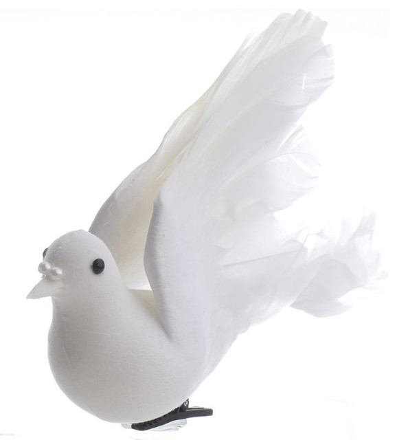 Artificial Doves, Set Of 12.