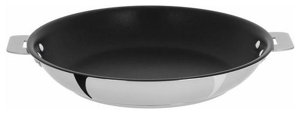 "Cristel Casteline Removable Handle, 12"" Nonstick Frying Pan."