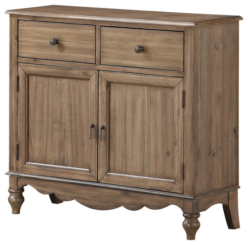 Amancio Accent Chest, Brown Gray