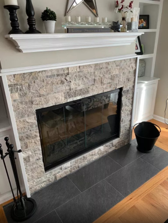 Fireplace & Entrance Tile Projects
