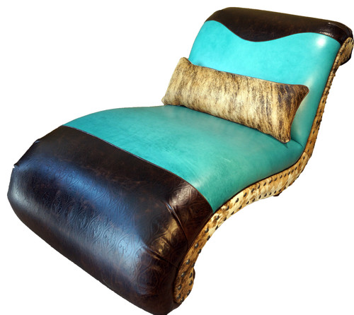Stunning turquoise furniture for your home page 5 of 5 for Chaise longue bleu turquoise