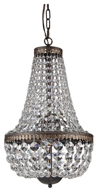 Seraphina crystal chandelier contemporary chandeliers by seraphina crystal chandelier aloadofball Images