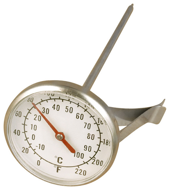 Milk Frothing Thermometer With Clip.