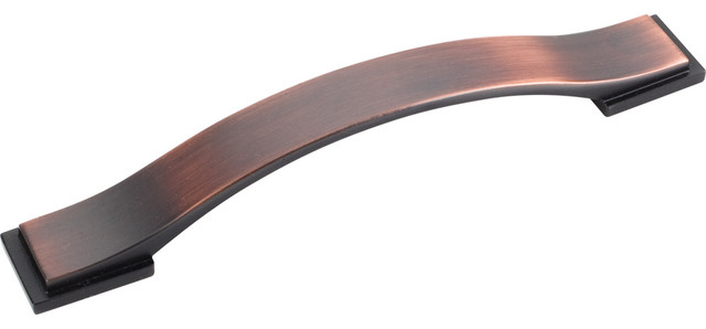 Shop Houzz | Hardware Resources Mirada Cabinet Pull, Brushed Oil Rubbed Bronze - Cabinet And ...