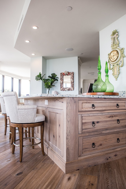 Juno beach rustic home bar other by waterview kitchens for 1111 dolphin terrace corona del mar
