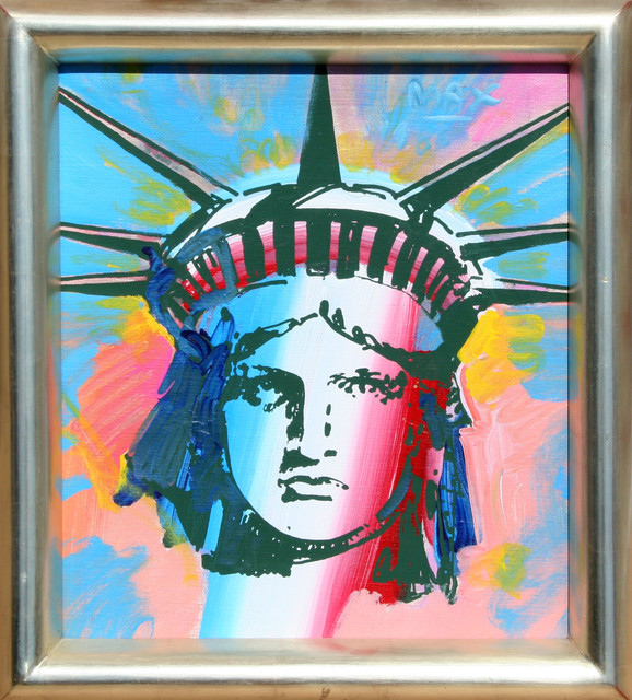 Painting By Peter Max For Sale