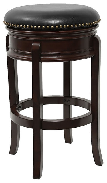 Flash Furniture 24 Quot Decorative Backless Cappuccino Wood
