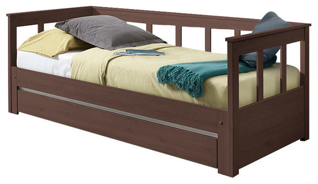 Pino Extendable Bed, Taupe