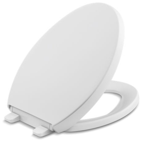 Terrific Kohler Reveal Quiet Close With Grip Tight Bumpers Elongated Toilet Seat White Short Links Chair Design For Home Short Linksinfo