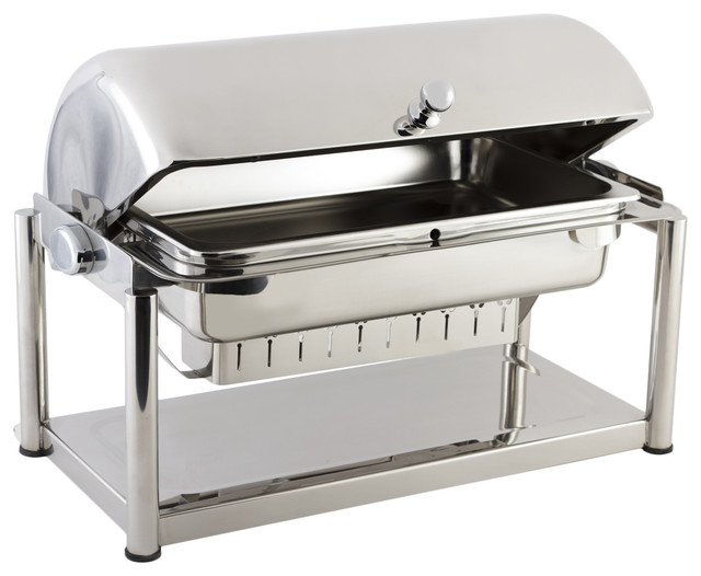 Olympia Dripless Rectangular Chafing Dish.