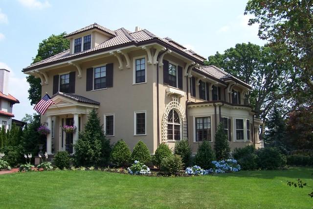A grand mediterranean home reborn boston di design for Grand home designs inc