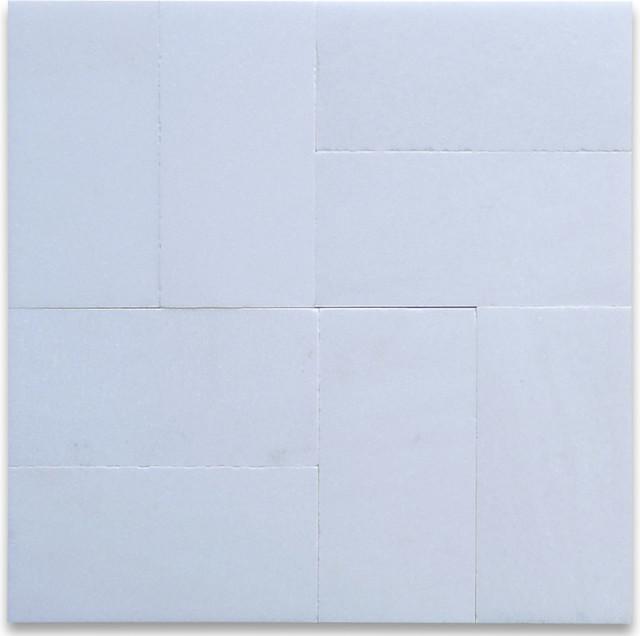 "3""x6"" Thassos White Subway Tile Honed"