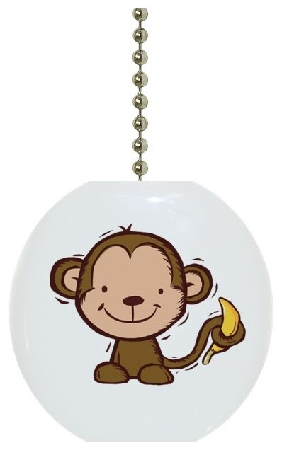 Monkey And Banana Ceiling Fan Pull