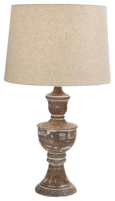 Oracle Wood Table Lamp Farmhouse Table Lamps By