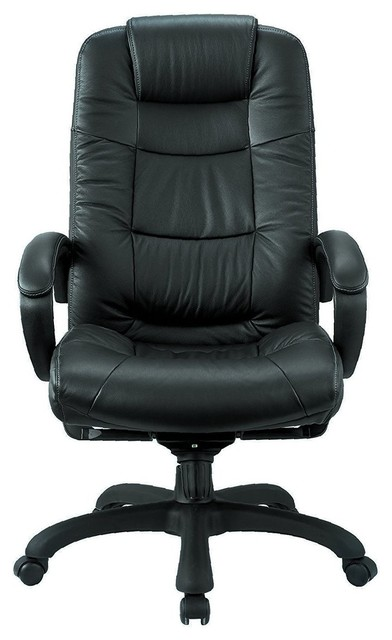 Pleasing Executive High Back Chair Real Leather Download Free Architecture Designs Grimeyleaguecom