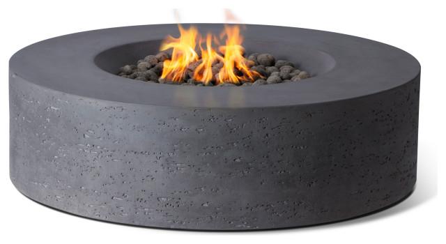 Genesis Fire Table, Charcoal Gray, Propane