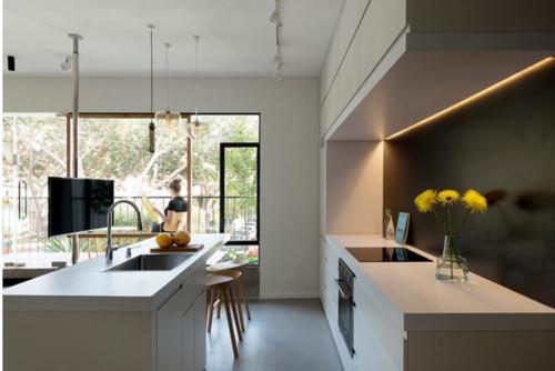 arredare la cucina e il soggiorno