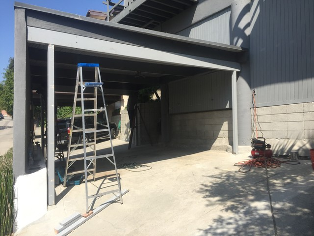 Carport To Garage Conversion Silver Lake Los Angeles