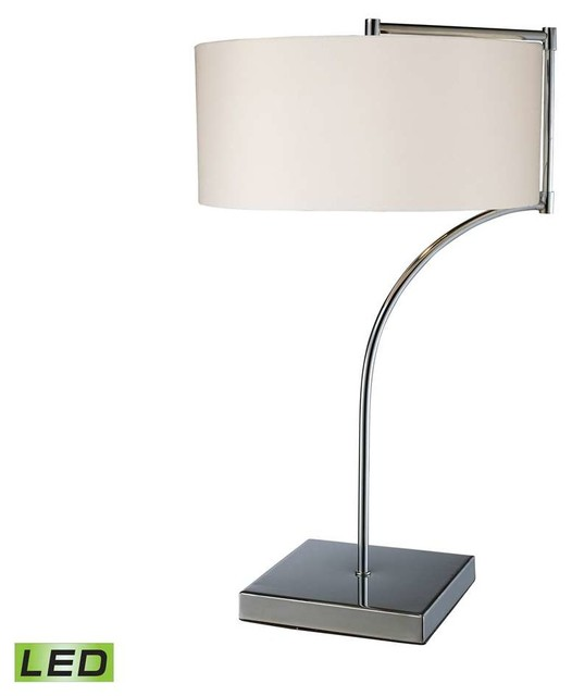 Dollar Tree Lancaster: Dimond Lancaster Table Lamp In Chrome With Milano Pure