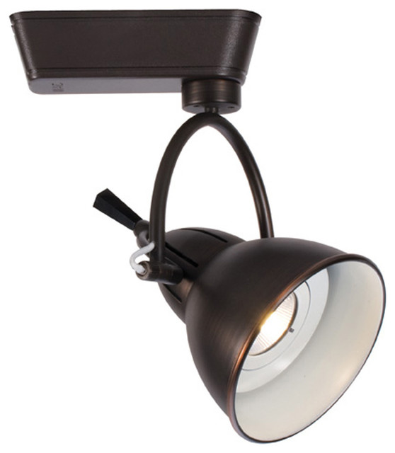 Wac Lighting Cartier Led 3500k 32 Degree Beam In Antique Bronze For H Track
