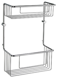 Sideline Basic Soap Basket, Double Polished Chrome