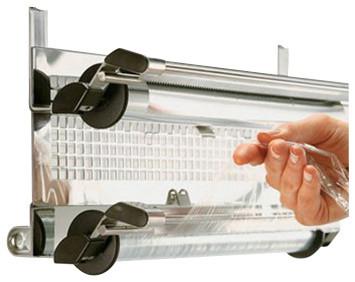 Rosle Kitchen Foil Holder / Wrap Dispenser Modern Kitchen Drawer Organizers