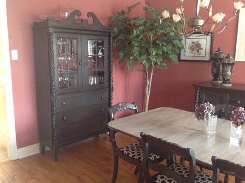 Dining Room Furniture Redo With Annie Sloan Chalk Paint