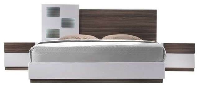 High Quality Ju0026M Furniture San Remo A 3 Piece Bedroom Set, Queen Contemporary Bedroom