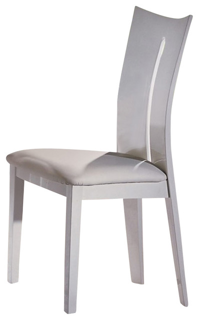 High Gloss White Dining Chair Modern Dining Chairs