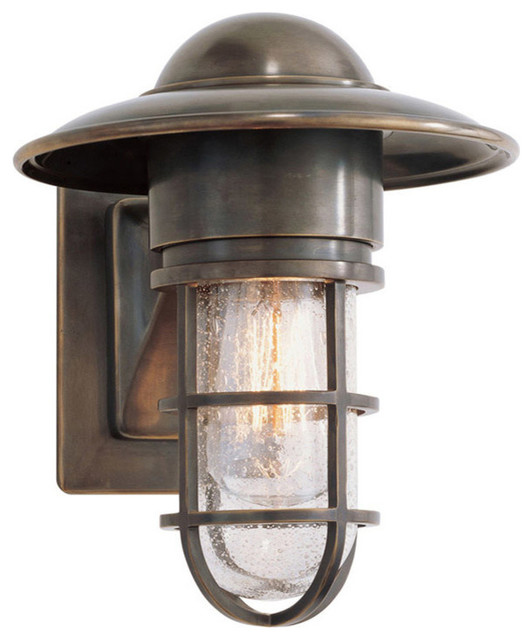 E F Chapman Marine Outdoor Wall Light Beach Style Lighting By New York