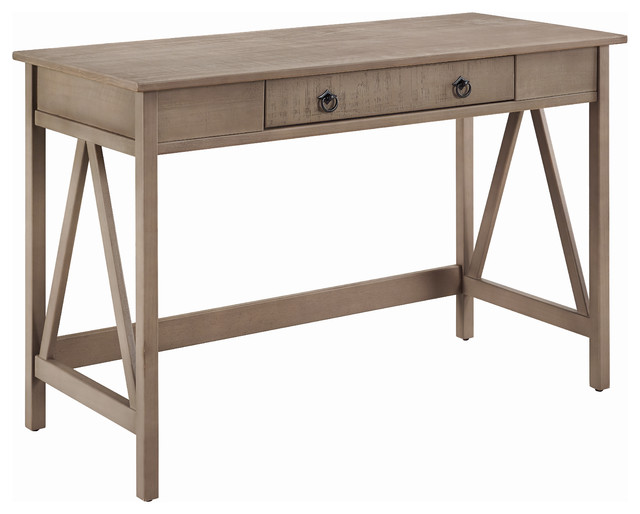 Titian Rustic Gray Desk.