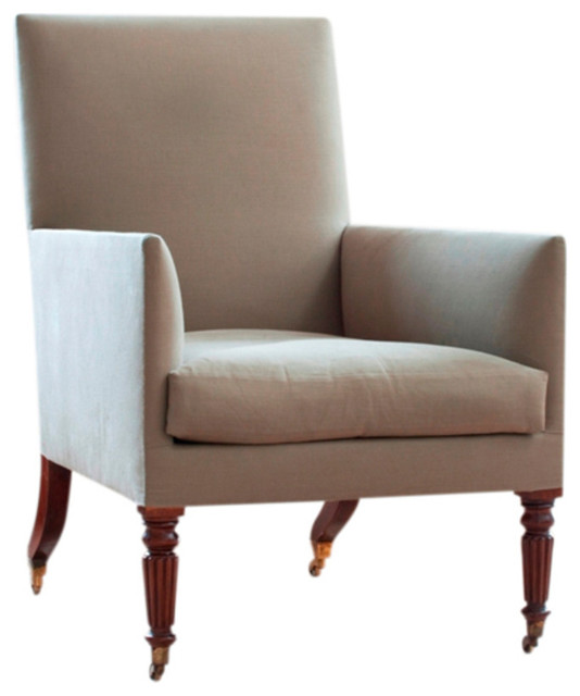 The Lancaster Chair Transitional Armchairs And Accent